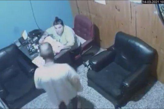 El hecho de inseguridad fue en José C. Paz y buscan a este delincuente