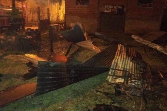 incendiaron la casa de la apdh la matanza luego de varias amenazas y ataques