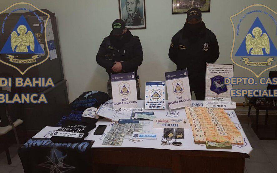 Bahía Blanca: desarticulan a una banda acusada de extorsionar a empresarios