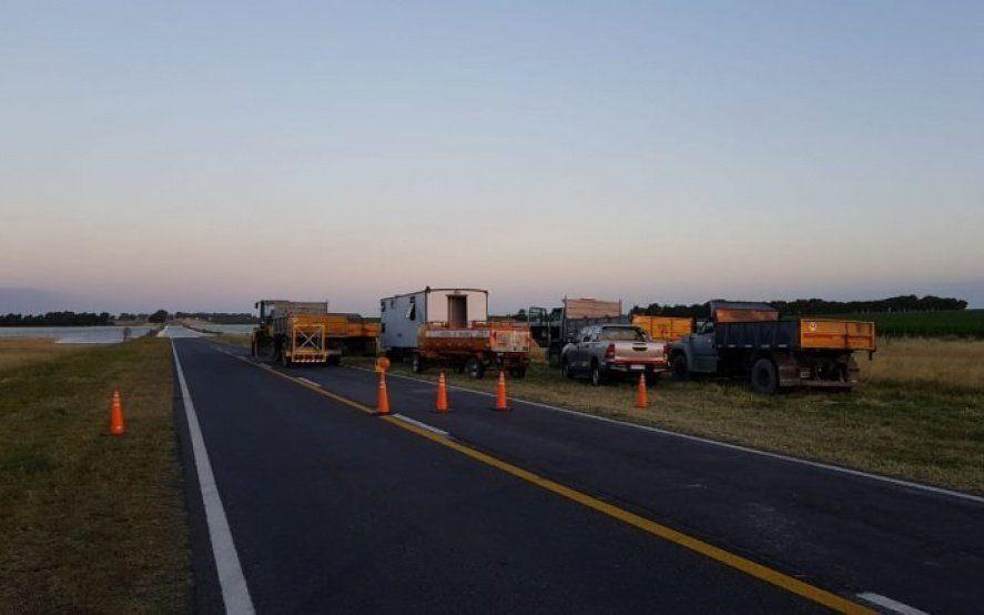Ruta Nacional 3: habilitaron las dos manos en el desvío entre Bahía Blanca y Monte Hermoso