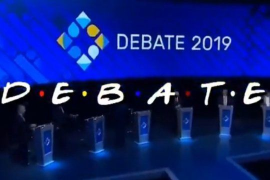 el debate presidencial al estilo friends: mira el imperdible video que la rompe en las redes sociales