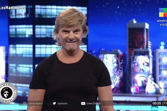 el cantante de vilma palma reaparecio en la tv y llovieron los memes en las redes: ¿con quien lo compararon?