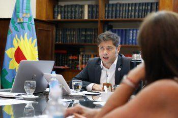 El gobernador Kicillof retomó su agenda para definir la continuidad del distanciamiento social.