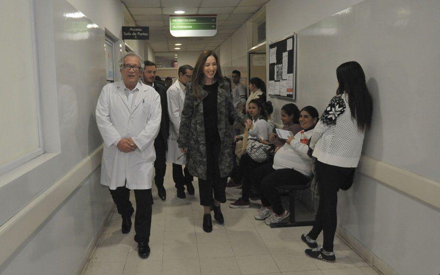 Junto a Granados, la gobernadora Vidal visitó cuatro centros de salud en Ezeiza