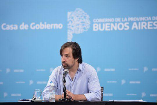 El viceministro de Salud, Nicolás Kreplak, detalló cómo será el carnet digital de vacunación.
