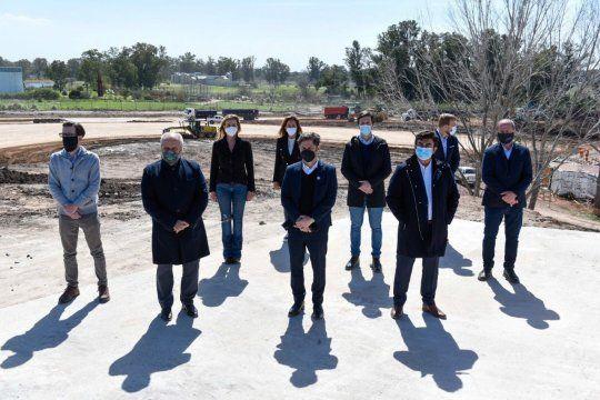 La Matanza: El Gobierno reactiva las obras en autopista Perón