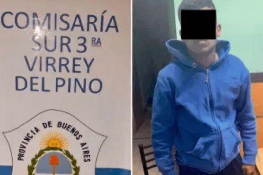 El menor detenido está acusado de matar a un albañil en Virrey del Pino