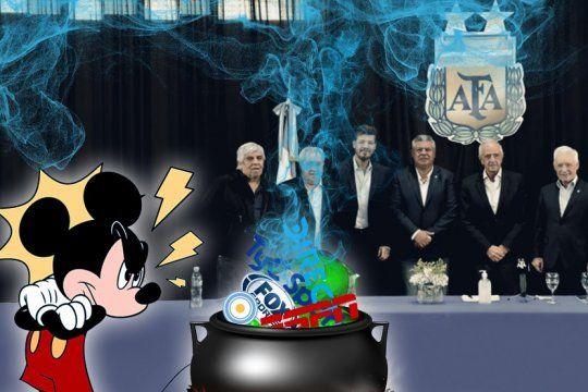 efecto disney: el futbol argentino y el tironeo por los derechos de transmision