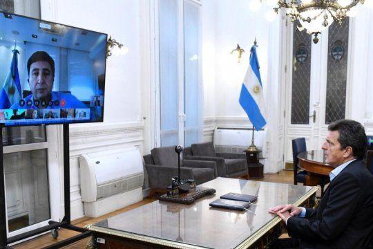 dos ministros de la nacion dieron informes sobre la pandemia por teleconferencia