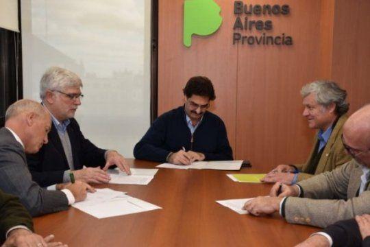 el ministerio de agroindustria firmo un convenio de cooperacion con entidades de la cadena de cultivos