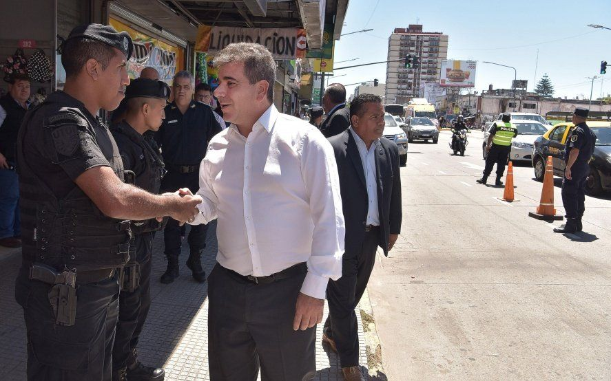 "Ritondo supervisó operativos para reforzar la lucha contra ""motochorros"""