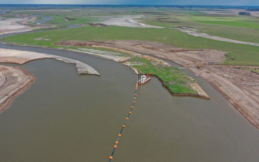 La Provincia presentó un novedoso sistema para prevenir inundaciones y sequías