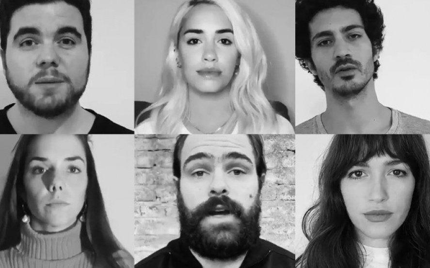 Video: el desesperado pedido de actores y actrices argentinos