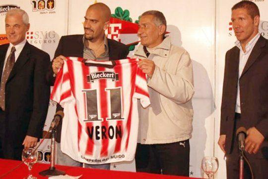 5 de junio, el día del regreso de Verón a Estudiantes.