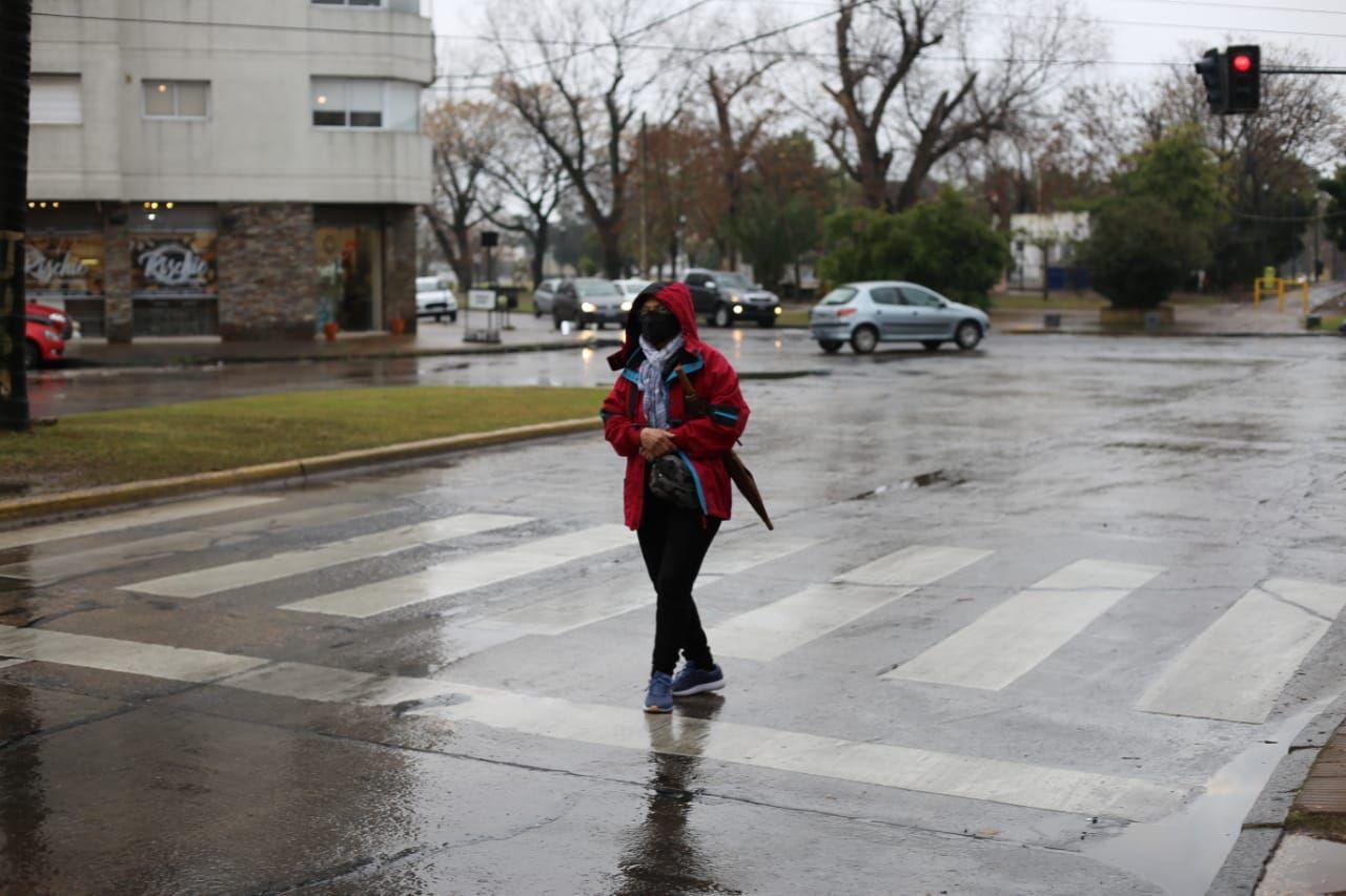 Lluvia en La Plata: el pronóstico indica que el mal tiempo continuará toda la semana.