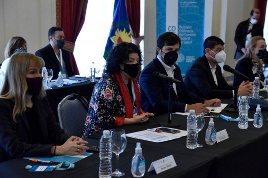 La ministra de Salud, Carla Vizzotti, y su par de provincia, Nicolás Kreplak, encabezan el COFESA en Mar del Plata.