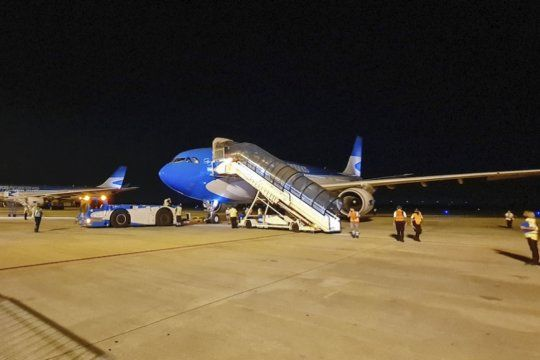 Sputnik V Dosvuelos de Aerolíneas Argentinaspartieron la noche del viernes desde Ezeiza