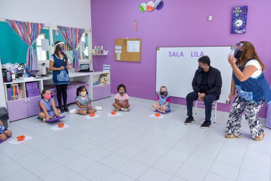 Vicente López: Jorge Macri anunció subsidios para jardines maternales