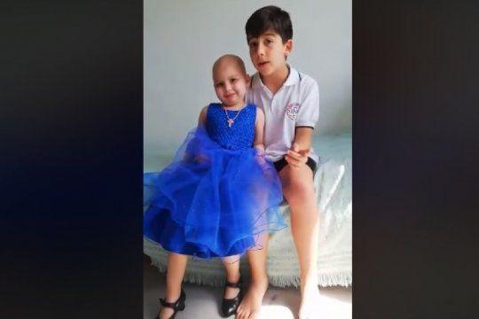video emotivo: una nena platense que padece leucemia hablo sobre la importancia de donar sangre