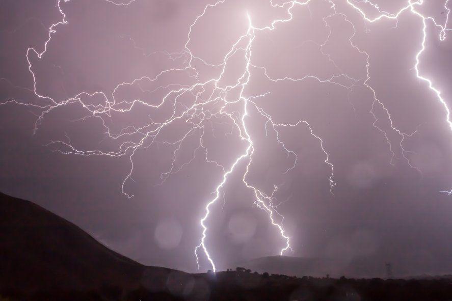 El SMN emitió un nuevo alerta meteorológico por tormentas fuertes.