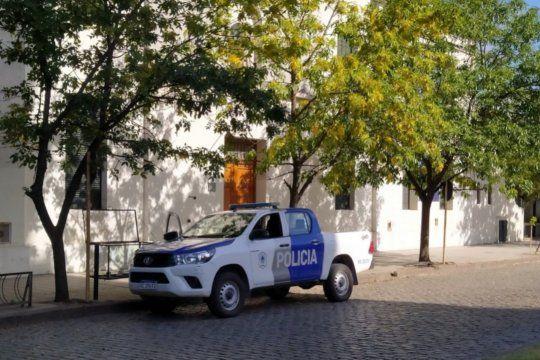 La amenaza de bomba la sufrió la escuela de calle Alsina al 555 de Coronel Suárez.