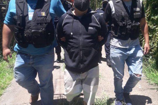 Fabián Tablado fue detenido en su casa de Tigre