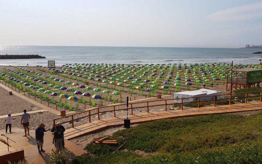 Por la playa pública de Necochea, la Provincia lidera el ranking de accesibilidad en el país