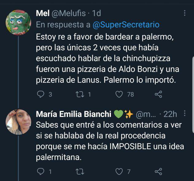 El debate de la pizza de chinchulines y su origen en Palermo o el conurbano bonaerense