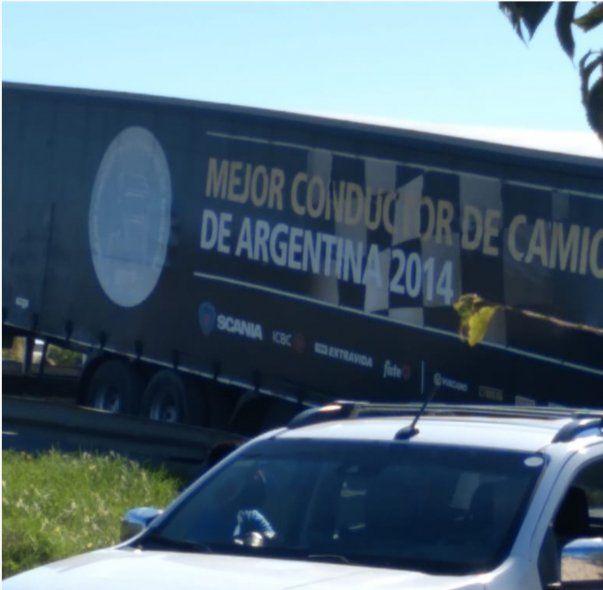 El mejor conductor de camiones fracasó en Tres Arroyos