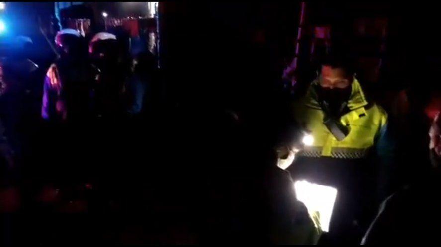 La Plata: desbaratan fiesta clandestina con 150 personas