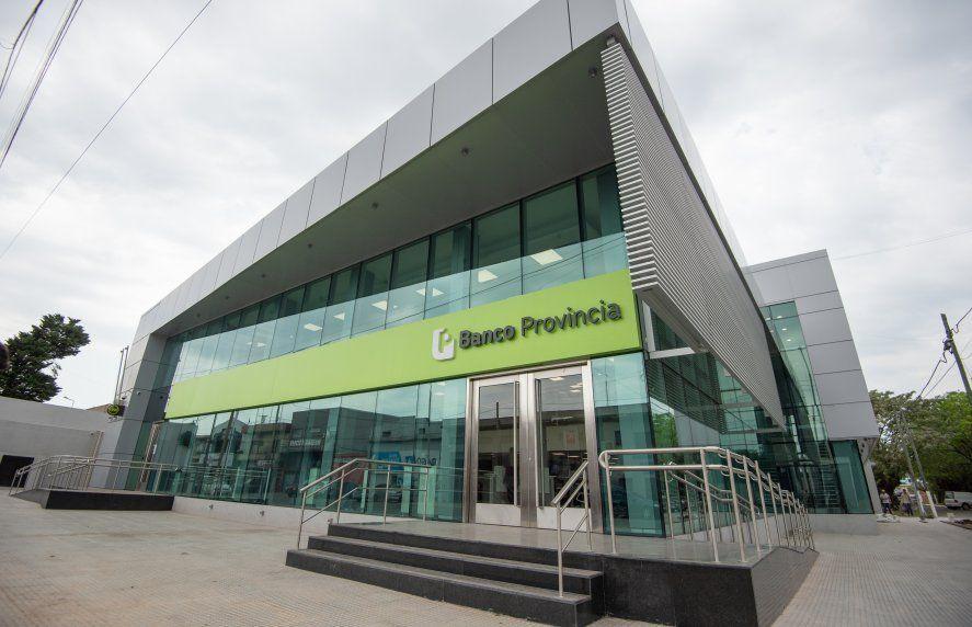 El edificio sustentable del Banco Provincia que se inauguró en Ezeiza.