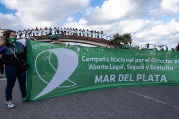La cautelar que suspendía el aborto legal quedó sin efecto (Foto: Campaña Aborto Legal Mar del Plata)