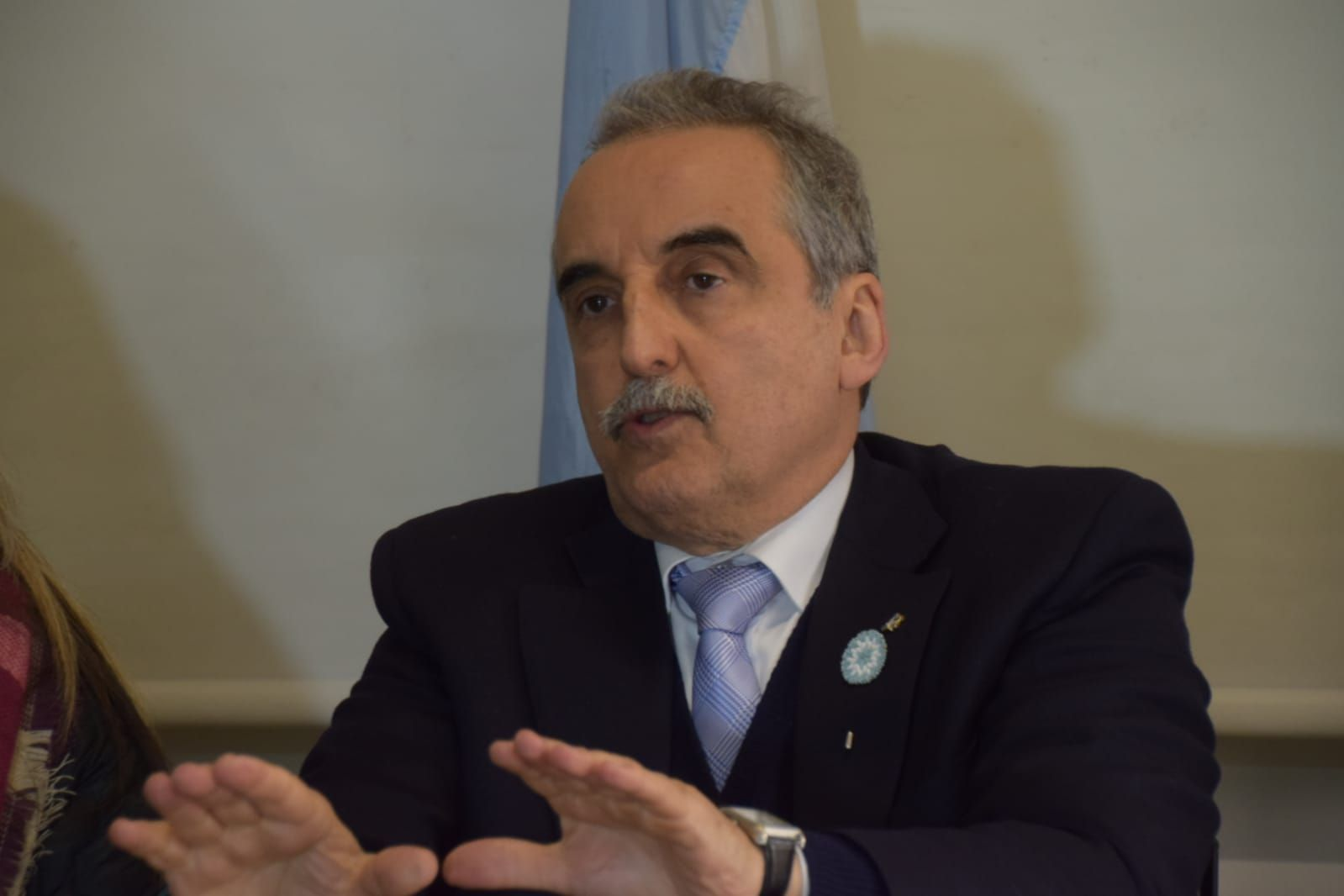 Guillermo Moreno recorrióOlavarría como candidato a diputado nacional por el Partido Republicano Federal