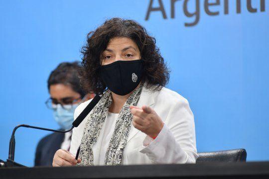 Tras la firma del DNU: La ministra Vizzotti admitió que la llegada de nuevas cepas de coronavirus podrían ser más letales