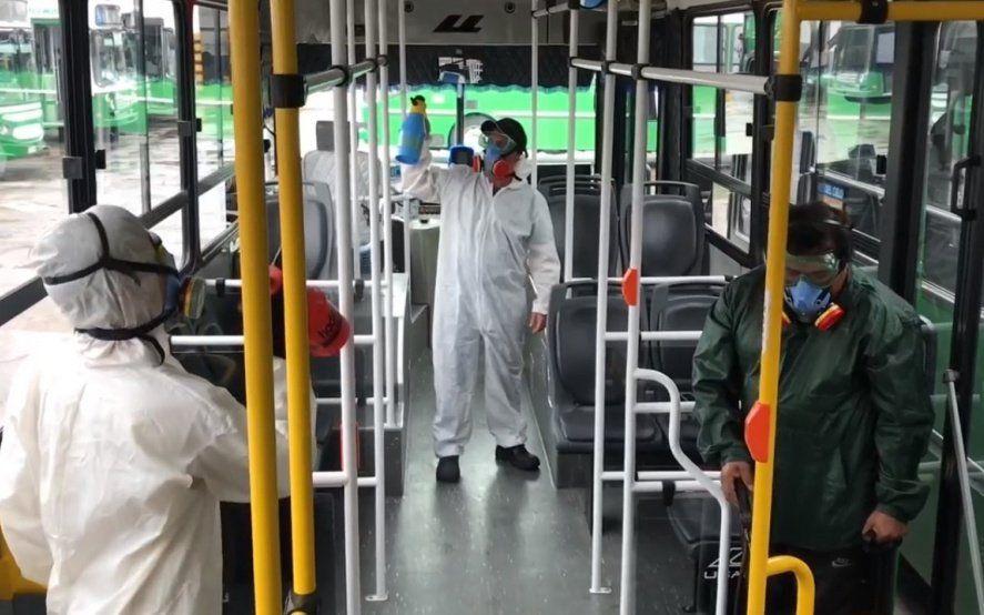 Nuevos protocolos en el transporte público de La Plata