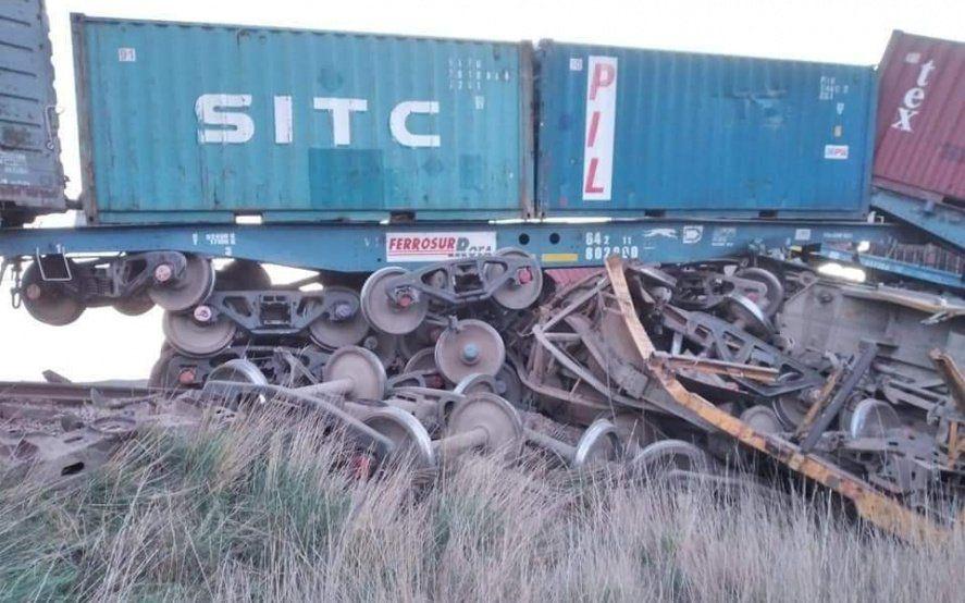 Descarriló un tren a la altura de Villarino