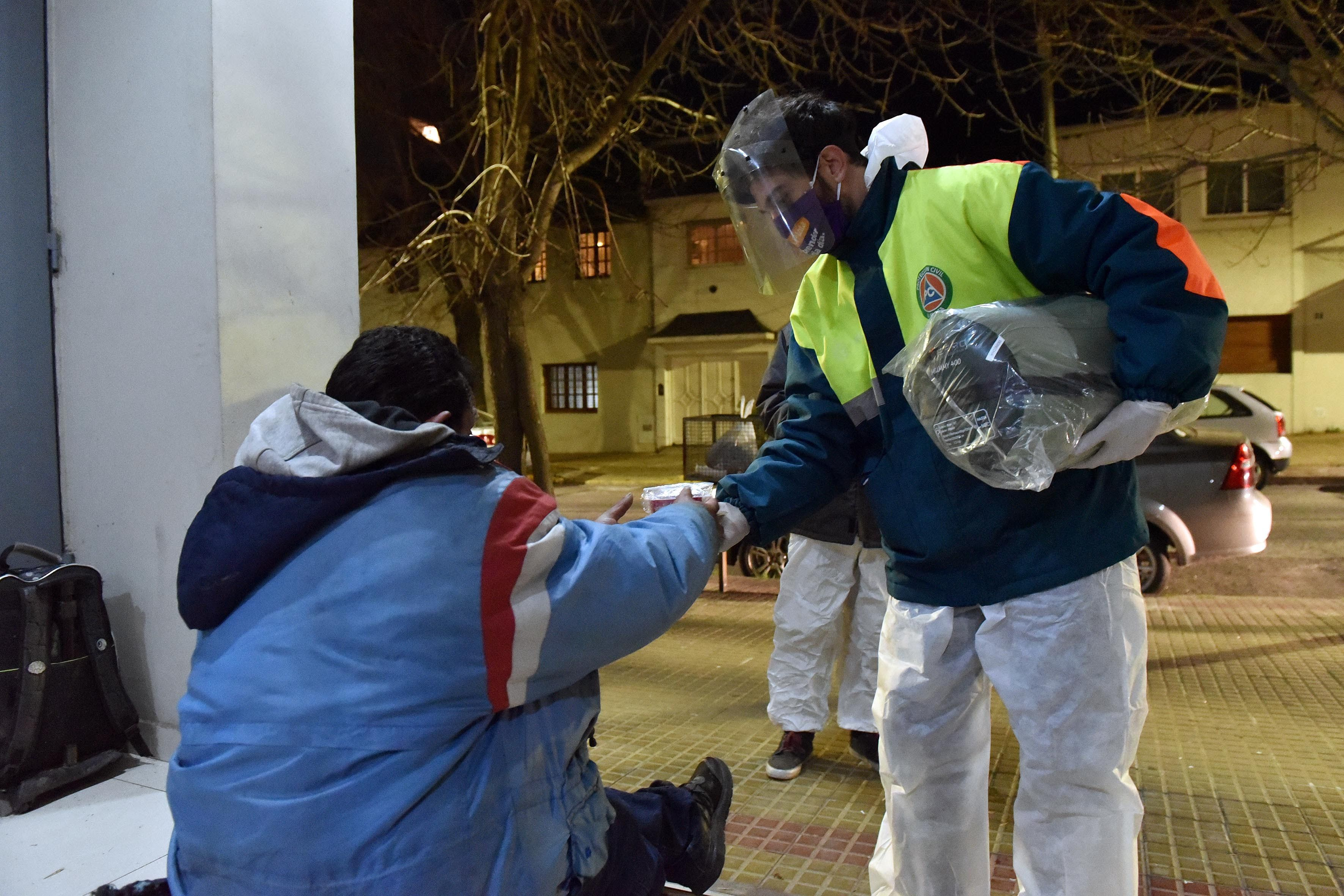 El municipio lanza el operativo frío en La Plata.