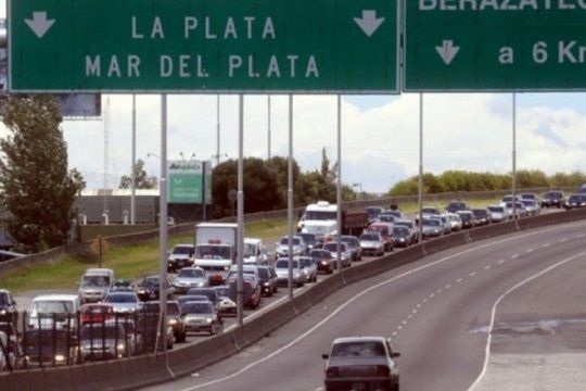 obras en la autopista la plata- buenos aires: que caminos alternativos se podran tomar
