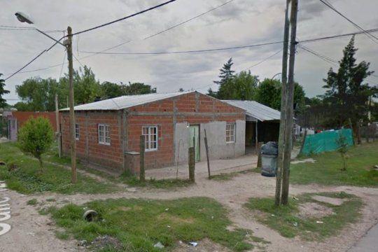 La vivienda donde se cometió el doble filicidio