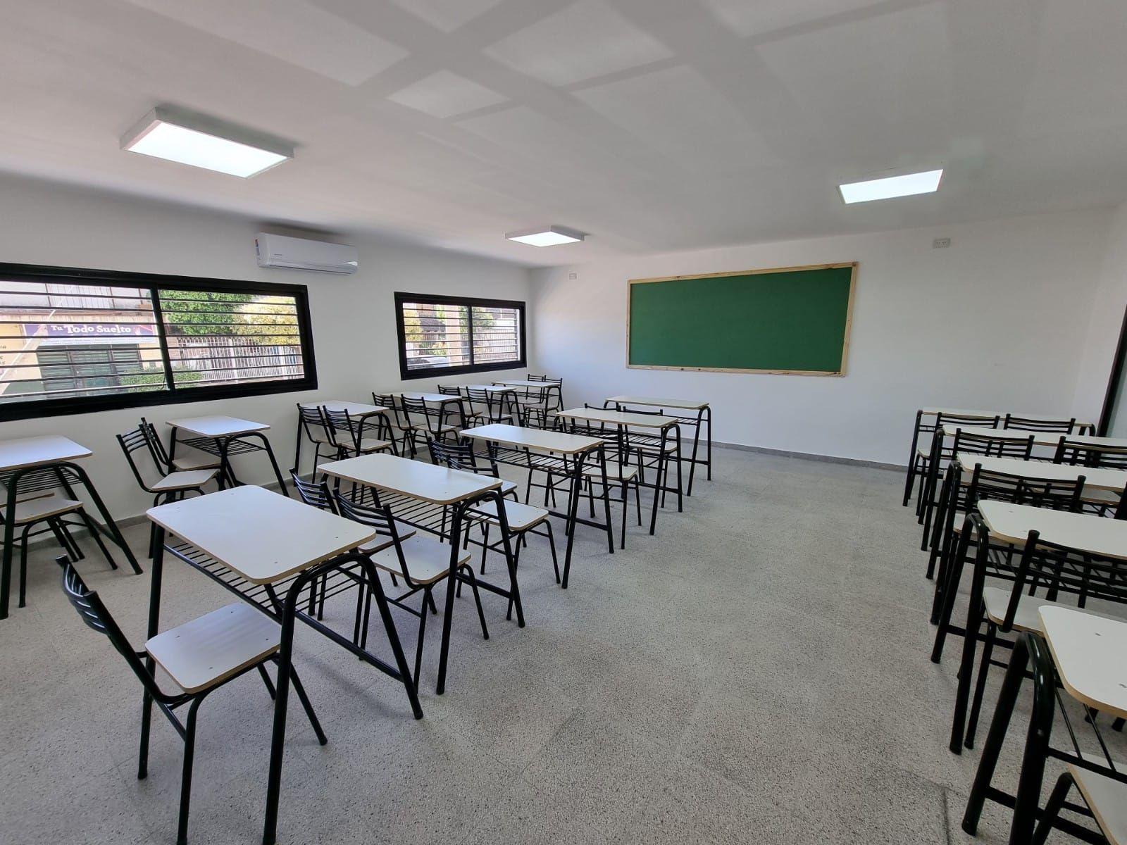 Cuáles son las 6 escuelas que inauguró la Provincia