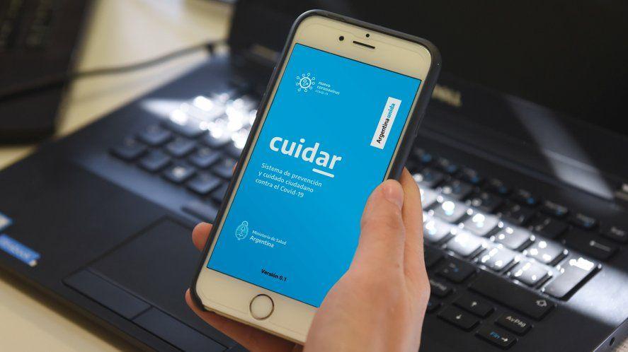 Existeun modo de rectificar los datos ingresados en la app CuidAR