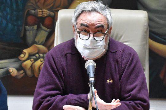 """El intendente de Trenque Lauquen, Miguel Fernández, pidió salir del debate político para las efectividades conducentes""""."""