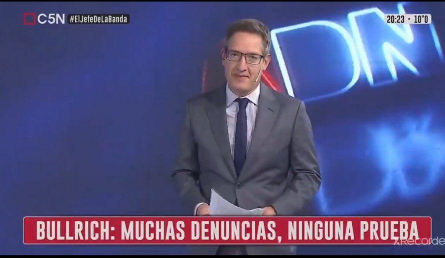 El periodista Tomás Méndez