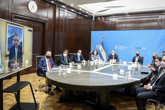 Alberto: Queremos proteger al que confía e invierte en la Argentina