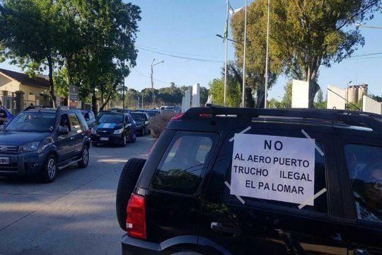 Vecinos apoyaron la decisión del Gobierno de rechazar la reapertura del aeropuerto El Palomar