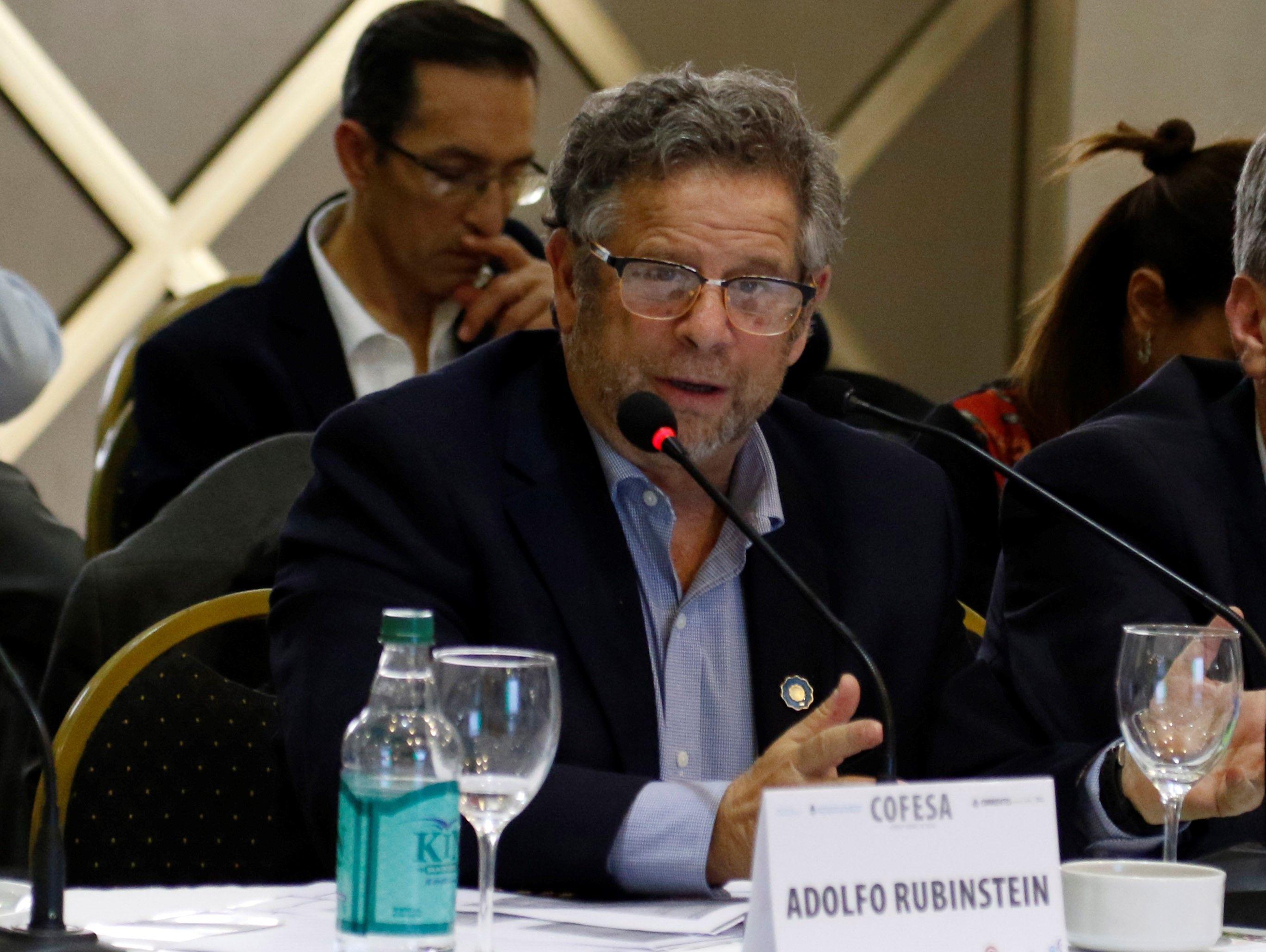 Adolfo Rubinstein, exministro de Salud durante el gobierno de Mauricio Macri
