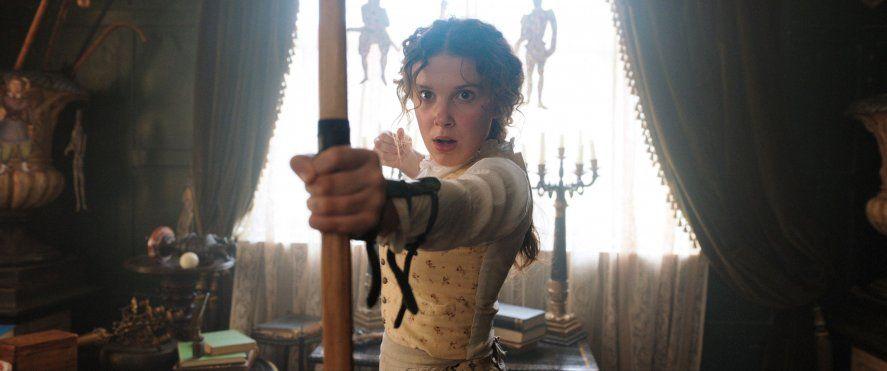 """""""Enola Holmes"""", una de las películas más vistas de Netflix"""