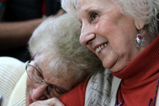merecido reconocimiento: con un acto en el congreso, abuelas acepta la nominacion al nobel de la paz