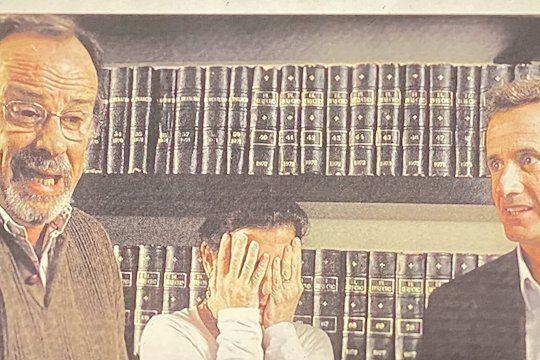 En el documental se ve esta foto extraña de los hermanos García Belsunce.