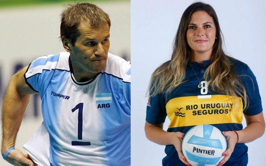 Los históricos Marcos Milinkovic y Natalia Espinosa llegan a General Belgrano con una clínica de voley